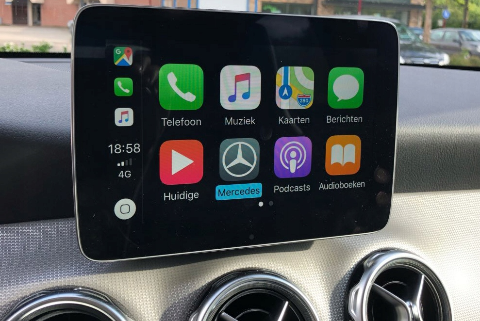 Odblokowanie Apple Carplay Mercedes Garmin NTG5S1