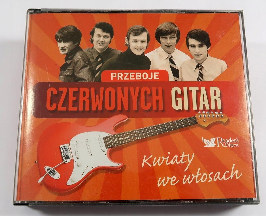 Przeboje Czerwonych Gitar Kwiaty We Wlosach 5 Cd 8798188294 Oficjalne Archiwum Allegro