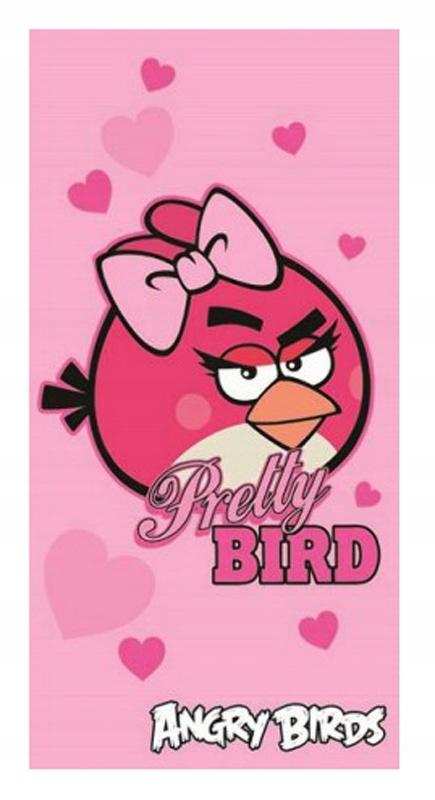 RĘCZNIK KĄPIELOWY DZIECIĘCY ANGRY BIRDS 70x140 baw