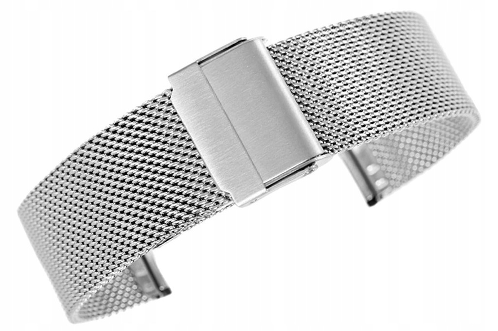 Bransoleta - Siatka Mesh Silver PVD 20 mm gr 1,7 m