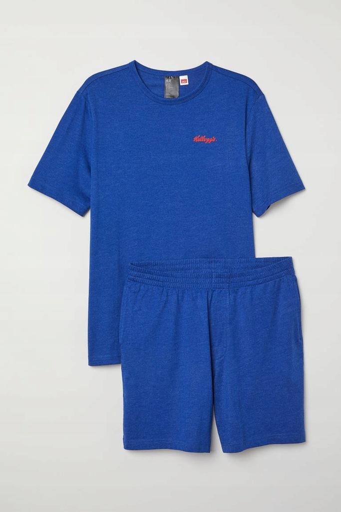 H&M Piżama z T-shirtem i szortami rozm.S