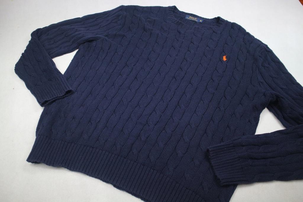 Polo Ralph Lauren sweter męski piękny splot XL