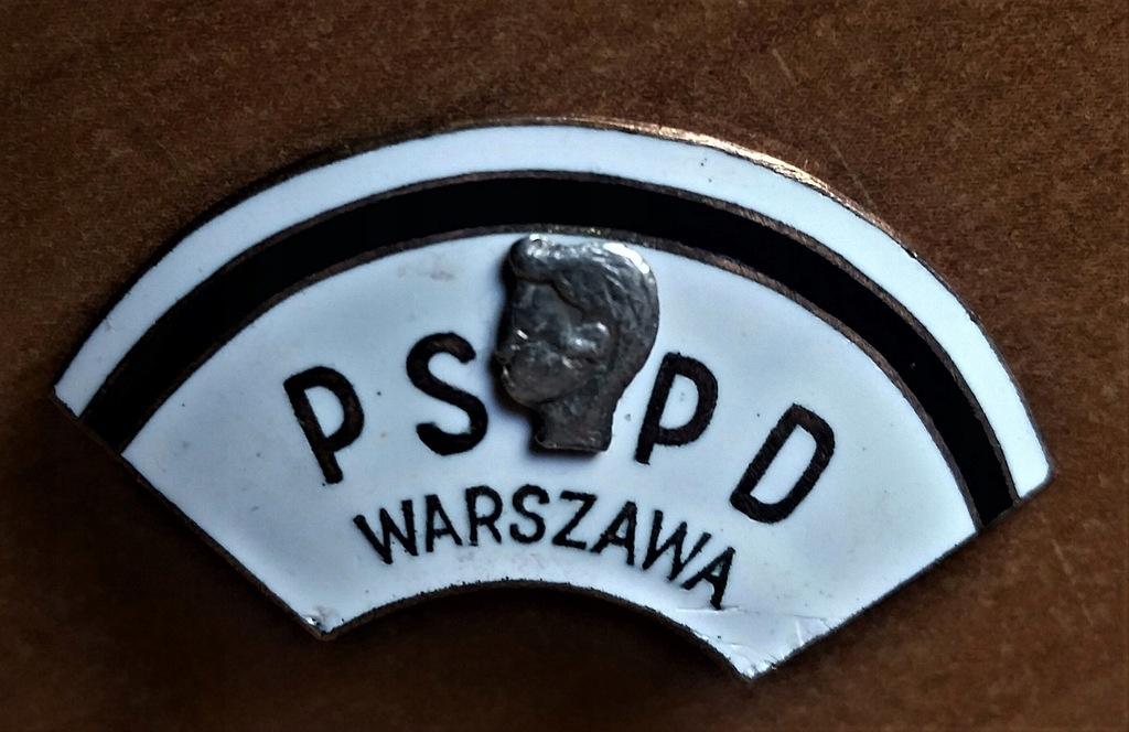 Odznaka - PSPD Warszawa