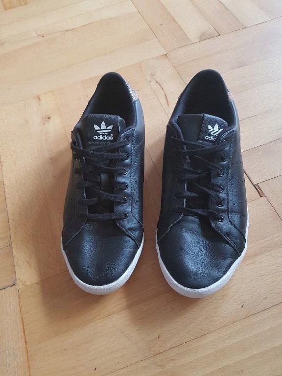 buty adidas originals miss stan czarne