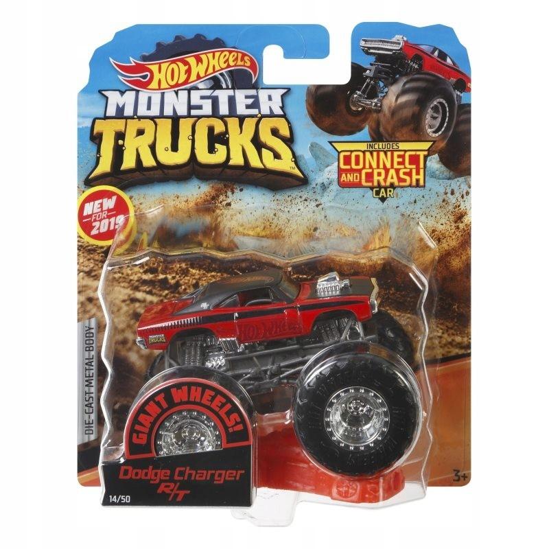 HOT WHEELS Pojazd Monster Truck