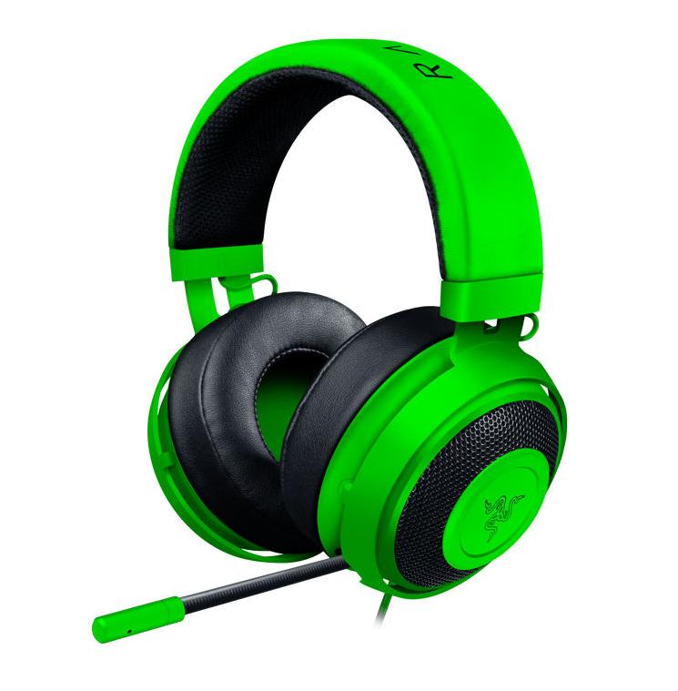 Słuchawki z mikrofonem Kraken Pro V2 zielone Razer