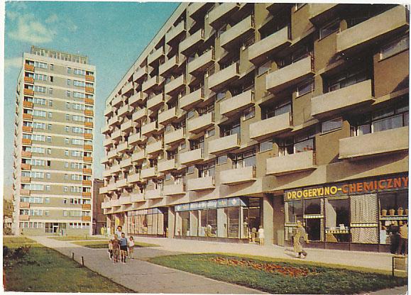 Poznań Plac Waryńskiego sklepy wystawy