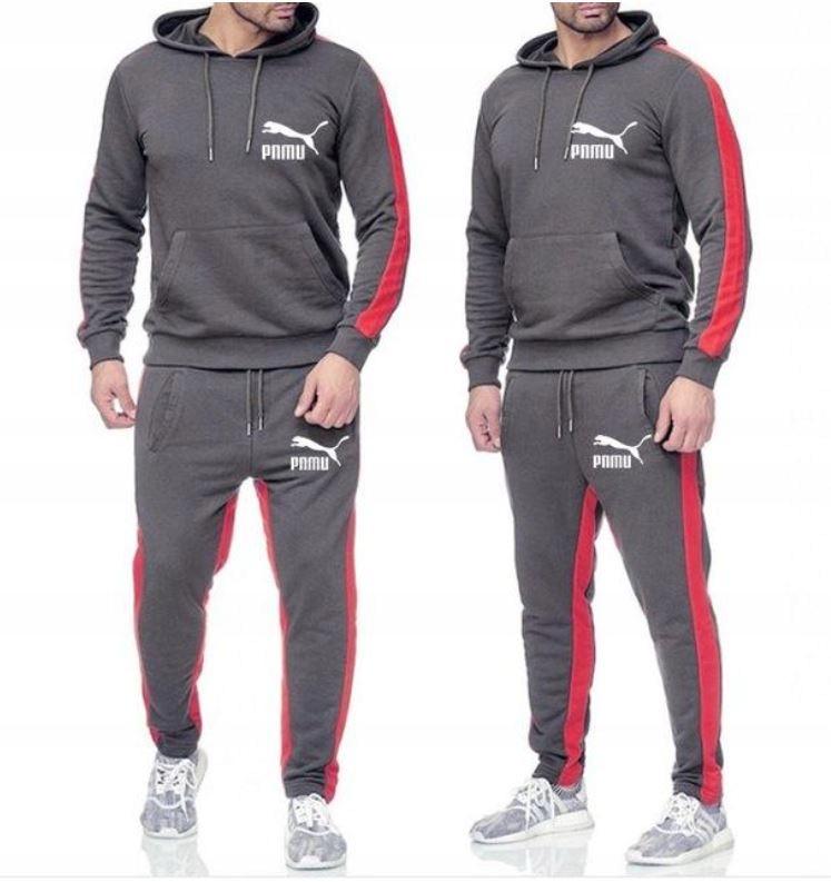 Zestaw Komplet Sportowy Bluza + Spodnie 3XL