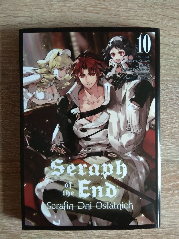 Seraph of the End Serafin dni ostatnich tom 10