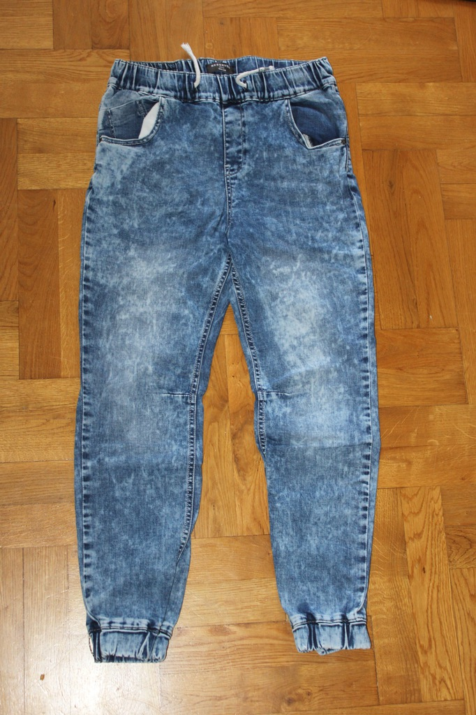 spodnie joggery jeans RESERVED BOYS 164 cm 13 lat