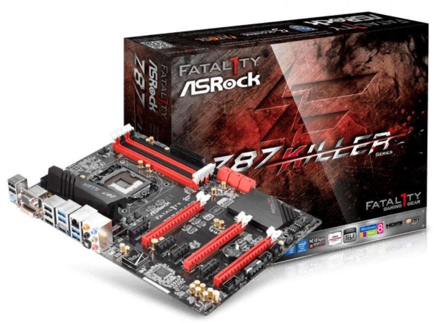 AsRock Z87 KILLER 7xPCIE + Pentium G3258 + 4GB RAM