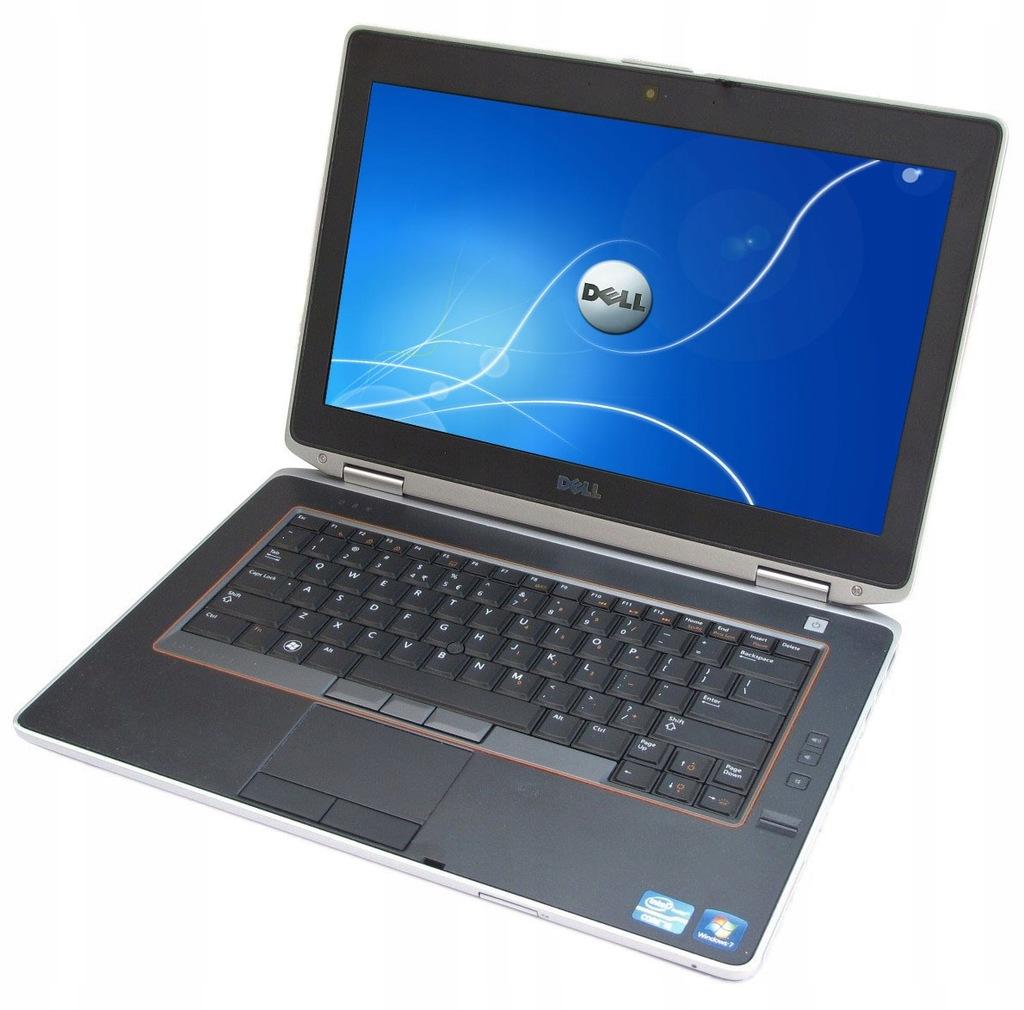 Biznesowy laptop DELL i5 2x2,5GHz 4/250 LED HDMI