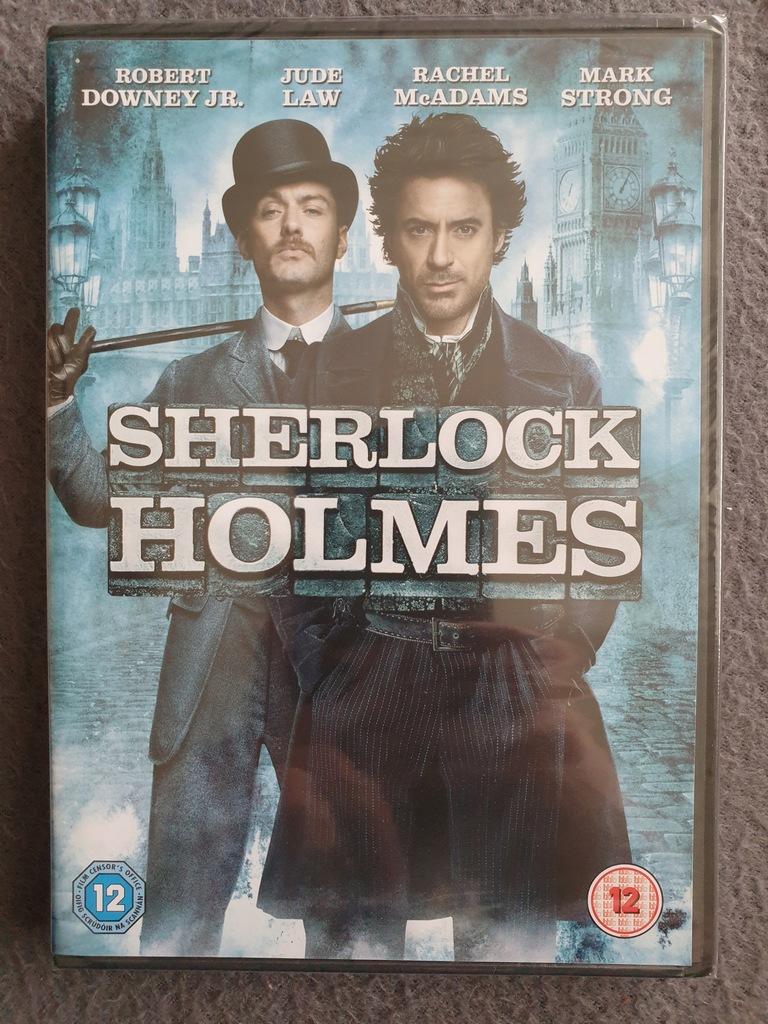 Sherlock Holmes DVD PL