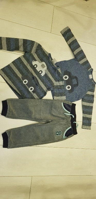 Zestaw bluzki, spodnie dres Coccodrillo 92