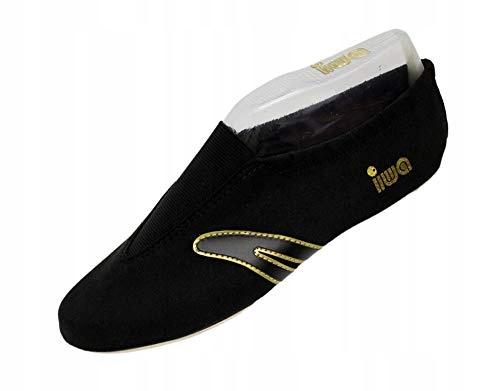 Baletki gimnastyczne IWA 507 czarne roz 40
