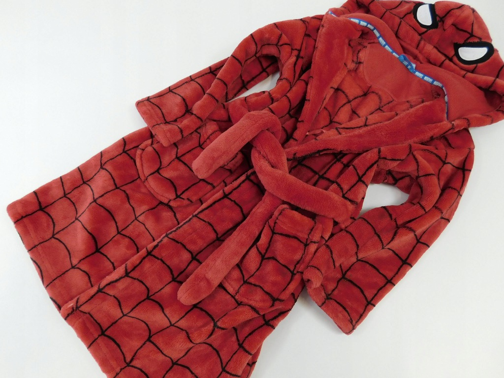 2101e101 M&S szlafrok CHŁOPIĘCY spiderman 122