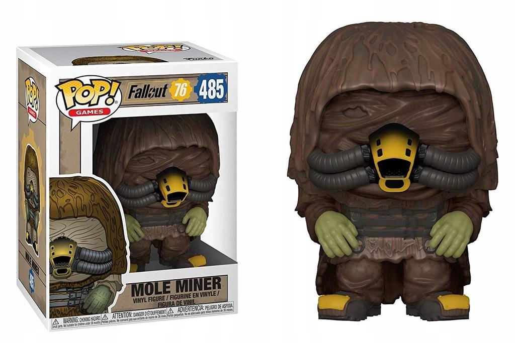 Funko Pop! Mole Miner - Fallout 76 Figurka