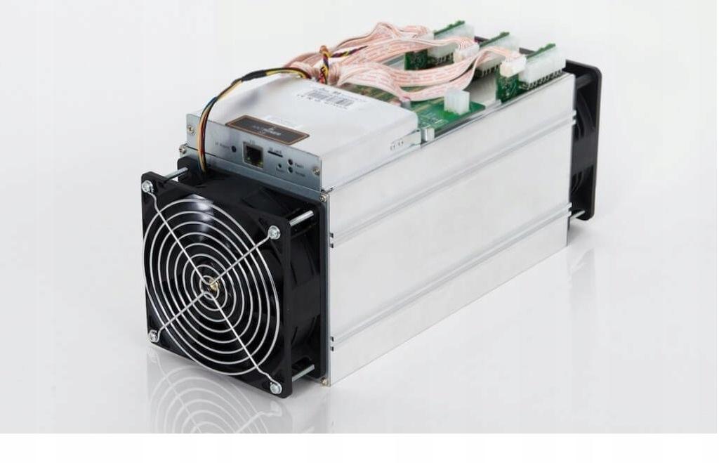 Antminer S7 miner Bitcoin BTC z zasilaczami gwaran