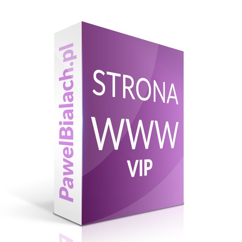 Strona internetowa WWW Tworzenie stron VIP