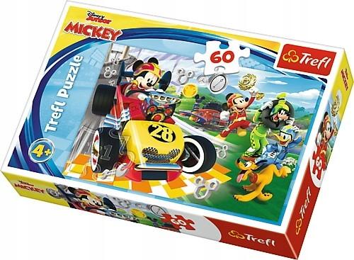 Trefl Puzzle 60 el.Myszka Miki Rajd z przyjaciółmi