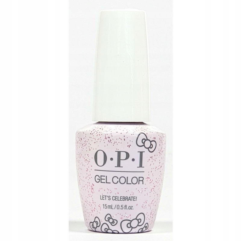 OPI GelColor HELLO KITTY 2019 L03 Let's Celebrate!