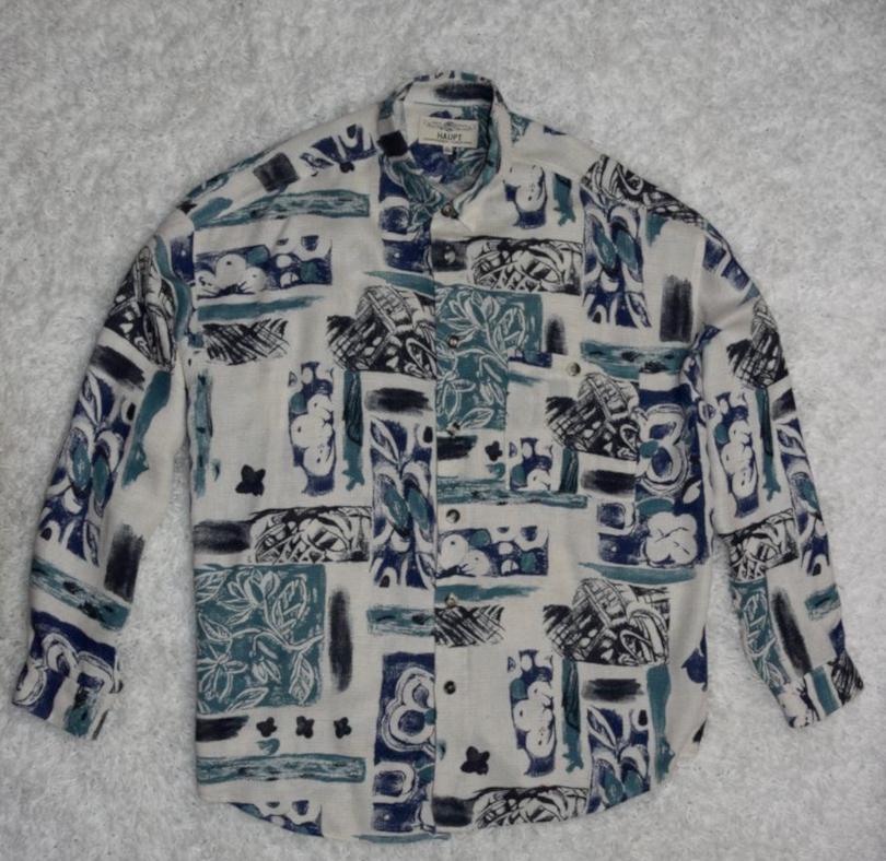 HAUPT oryginalna koszula - XXL 3XL 4XL retro 90s