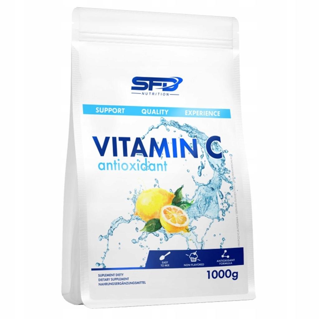 Sfd Vitamin C Antioxidant 1000g Witamina C Proszek 7701629531 Oficjalne Archiwum Allegro
