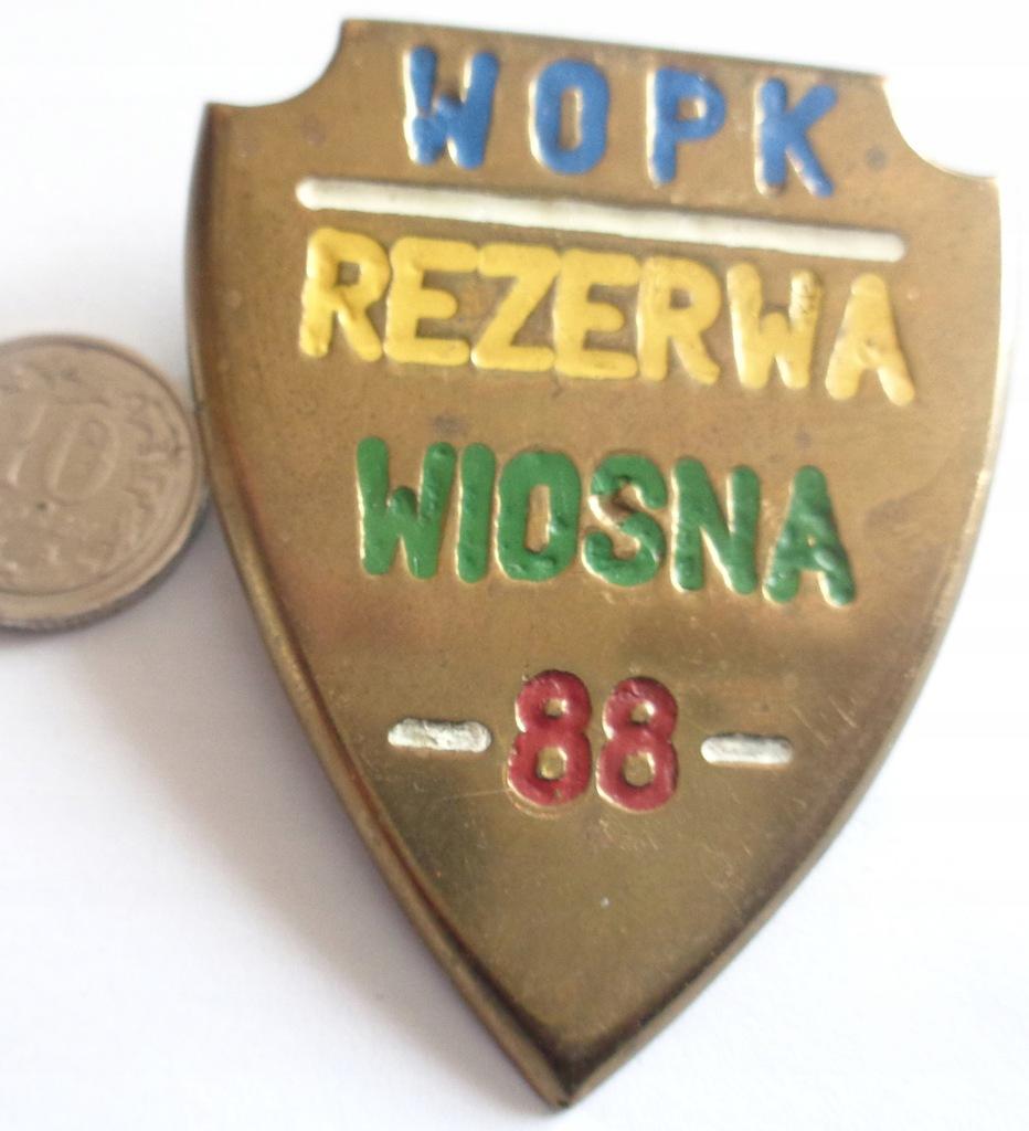 ODZNAKA WOPK REZERWA WIOSNA 88