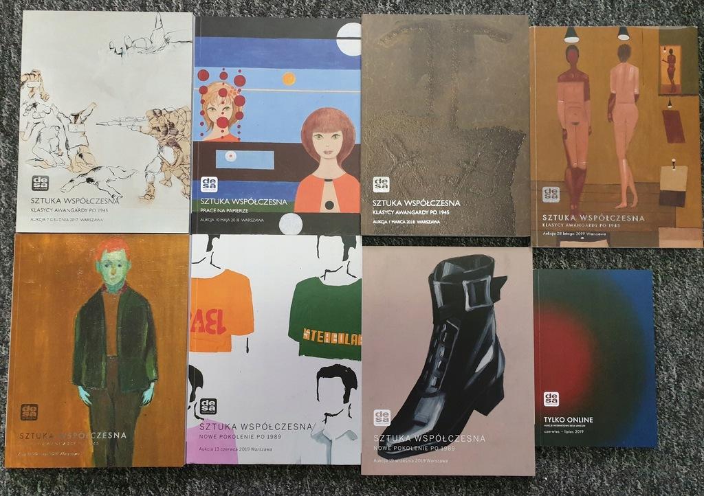 Katalog DESA Sztuka współczesna 2018-...x 8