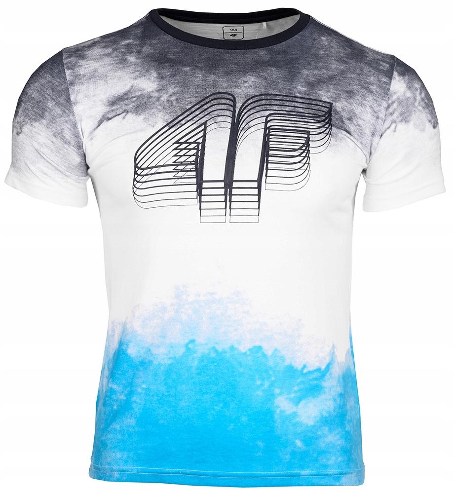 4F Koszulka t-shirt dziecięca Junior roz.128
