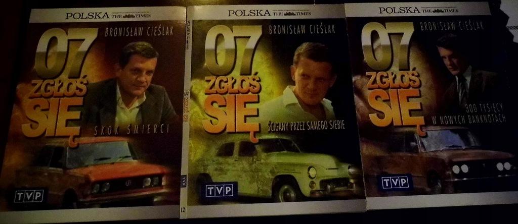 07 zgłoś się - 3 płyty VCD