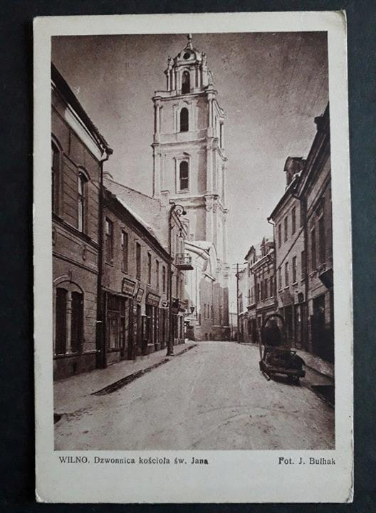 WILNO Dzwonnica kościoła św.Jana