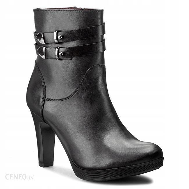 Czarne damskie botki 9520 61 | Sklep online Wojas.pl