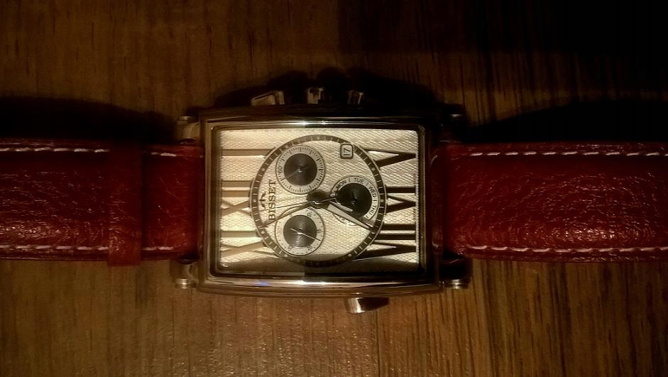 Zegarek Męski Szwajcarski BISSET