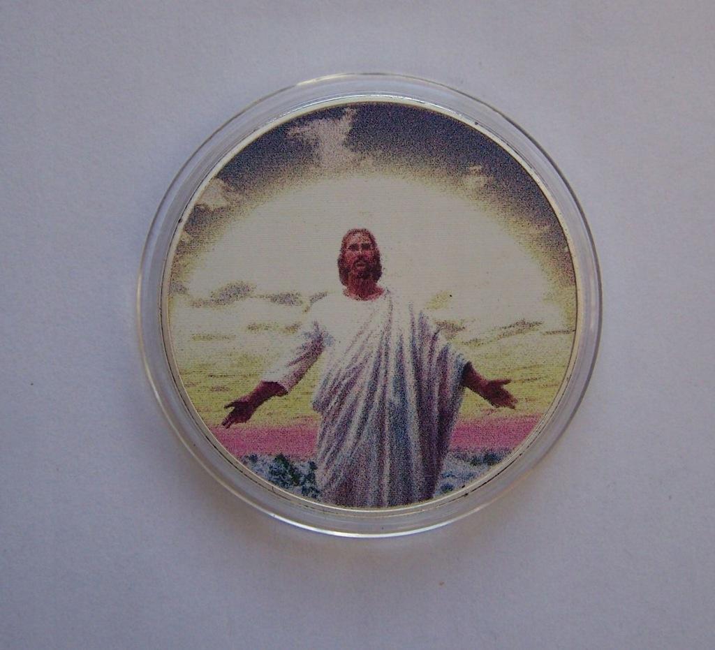 USA - Nowy Testament 8 - piękna posrebrzana