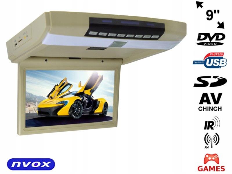Monitor podwieszany podsufitowy LCD 9cali cali LED