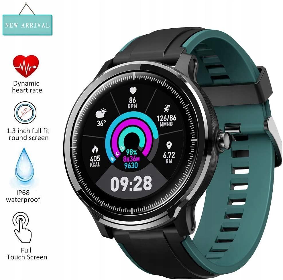 Zegarek sportowy smartwatch EUMI iOS Android