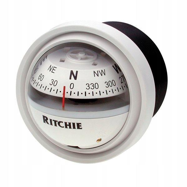 Kompas jachtowy RITCHIE V57W.2 biały OKAZJA