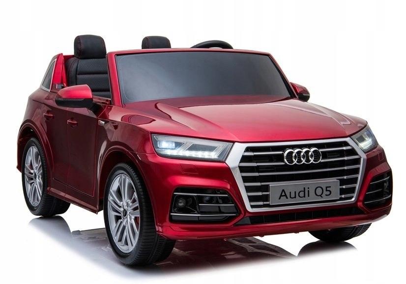 Pojazd na Akumulator Nowe Audi Q5 2-osobowe Czerwo