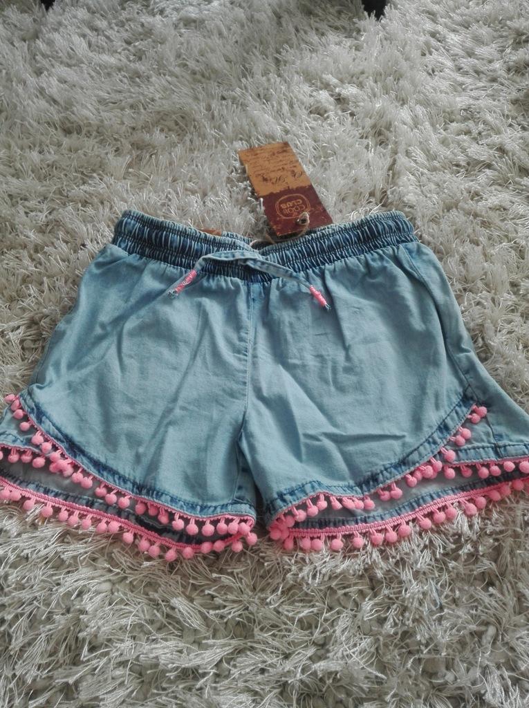 Cool Club szorty spodenki jeansowe 158