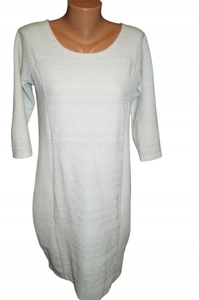 Sukienka kolor kość słoniowa Reserved rozm M