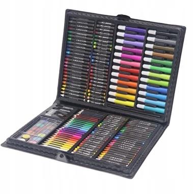 Zestaw plastyczny do malowania w walizce 168el