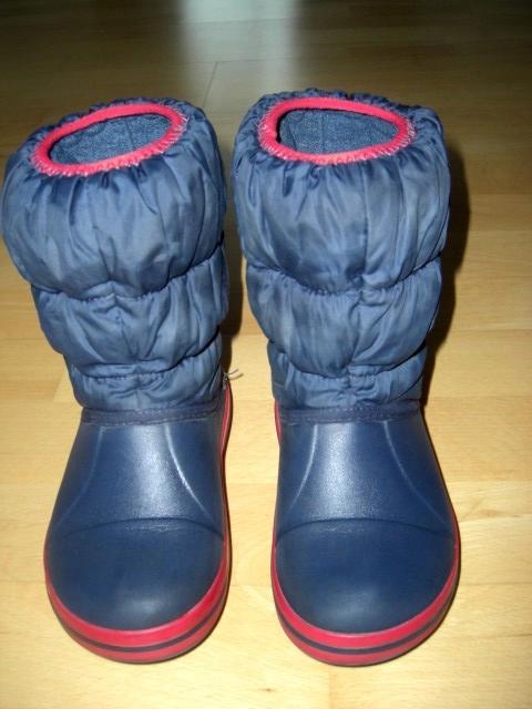 Kozaki/śniegowce z firmy Crocs r. 30 - 31 cm (C13)