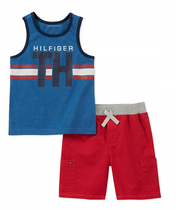 Zestaw koszulka+spodenki Tommy Hilfiger 104-110 cm