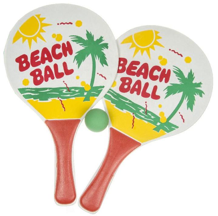 LG Imports zestaw do piłki plażowej junior 34 cm d