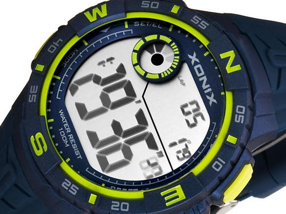 Duży Sportowy Zegarek XONIX WR100m Dla Chłopaka