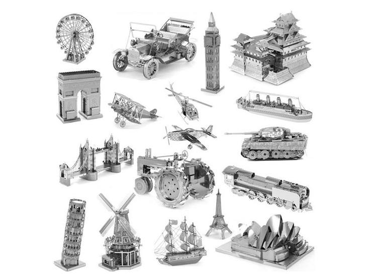 Metalowe Modele Samochodow Budowli Do Skladania 7362620591 Oficjalne Archiwum Allegro