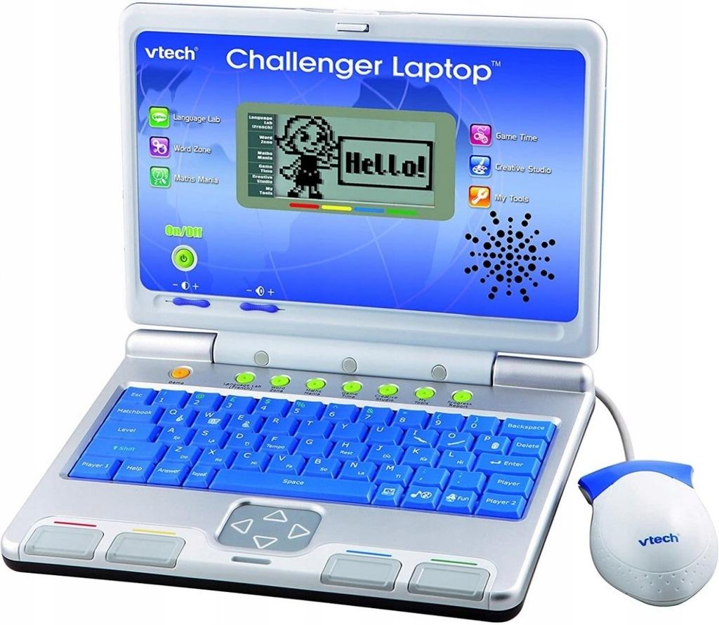 Vtech Challenger Laptop Edukacyjny Niebieski 9234520597 Oficjalne Archiwum Allegro