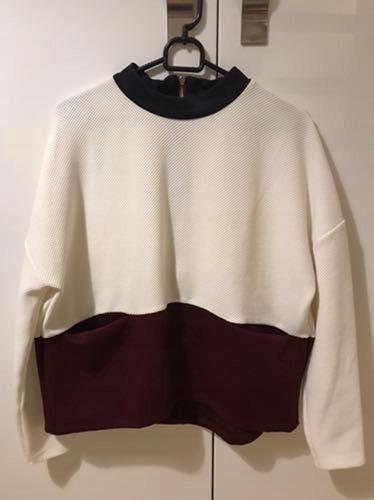 Mohito- bluza z kieszeniami, zamek na plecach