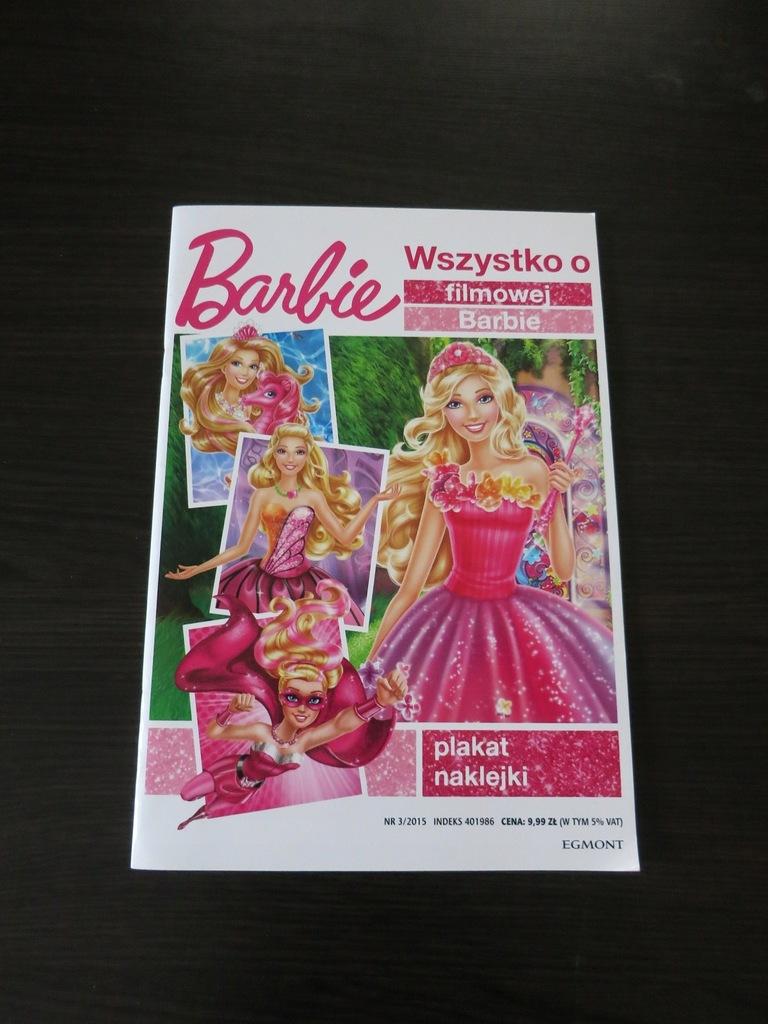 Gazetka Barbie plakat, naklejki, opowiadania